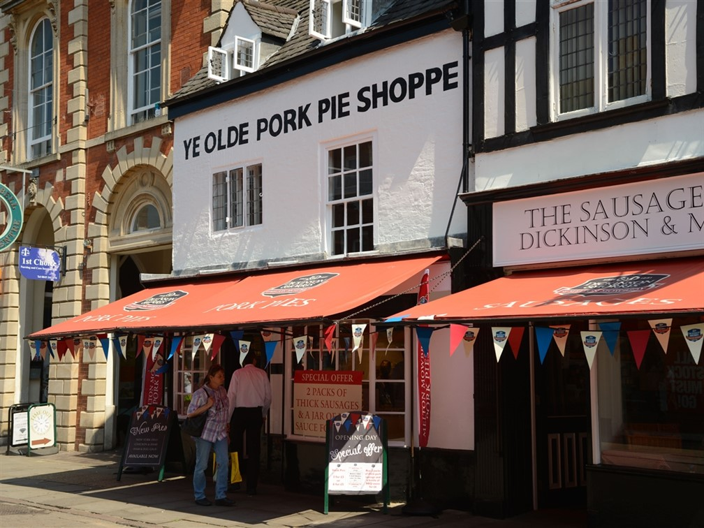 Olde Pork Pie Shoppe © Dickinson & Morris