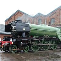 Flying Scotsman on the West Somerset Railway