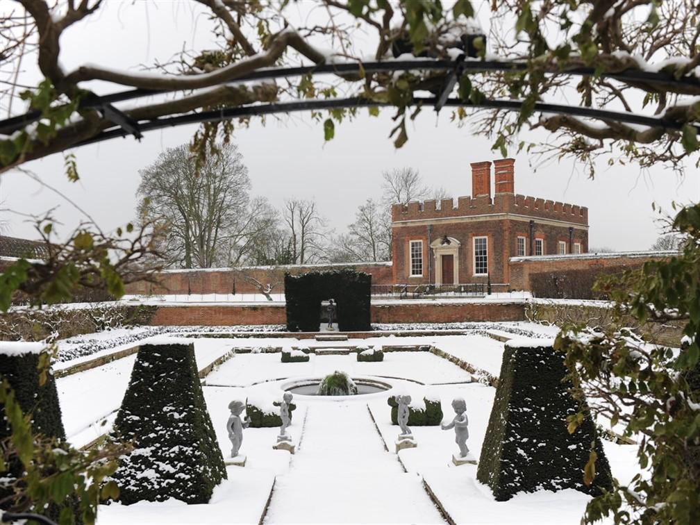 Festive Hampton Court
