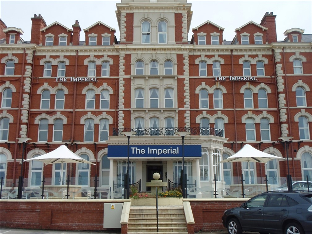 Front of the Imperial Hotel