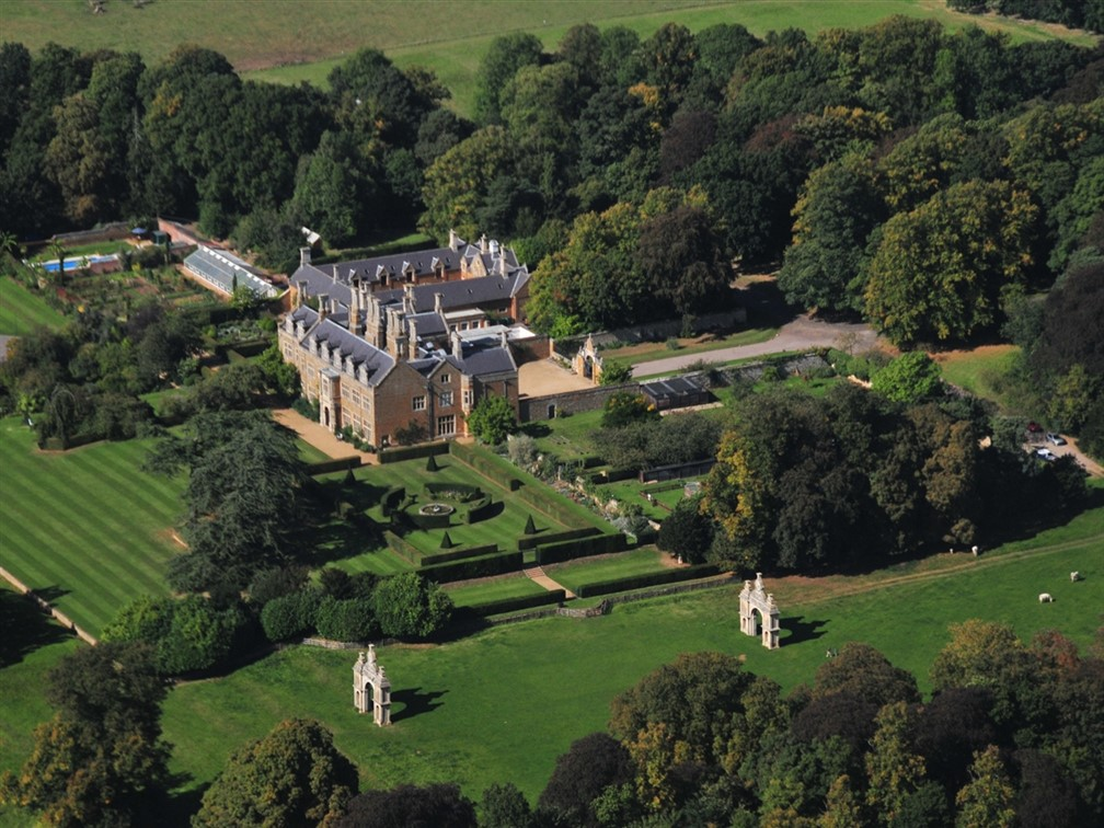 Holdenby House Aerial -1