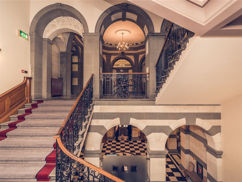 The Grand, Staircase