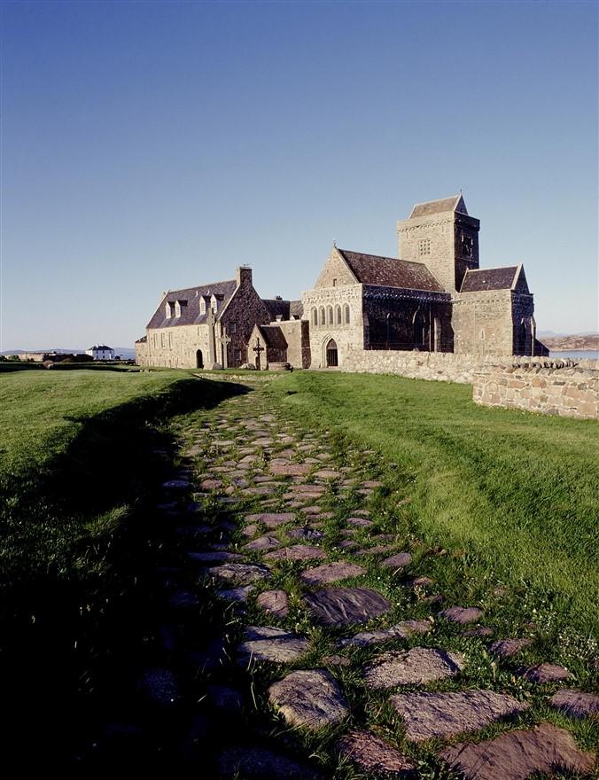 Iona Abbey & Nunnery Courtesy of Historic Scotland