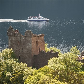Jacobite Rebel at Urquhart Castle