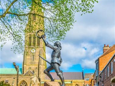 King Richard III Statue
