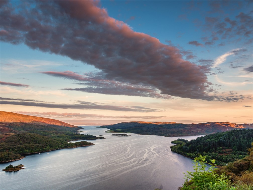 Kyles of Bute at Sunset