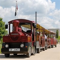 National Memorial Arboretum with Land Train