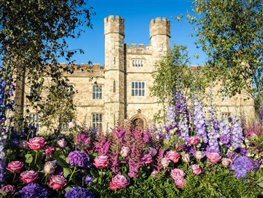 Leeds Castle Festival of Flowers .