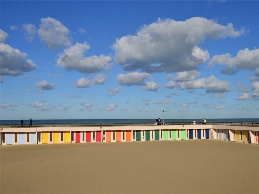 Le Touquet beach huts