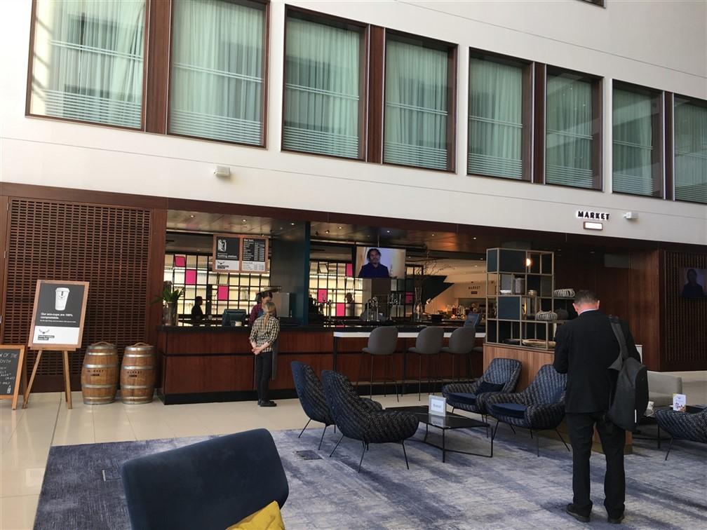 Marriott Leicester-Reception