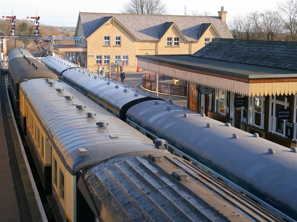 Nene Valley Railway, Wansford Station