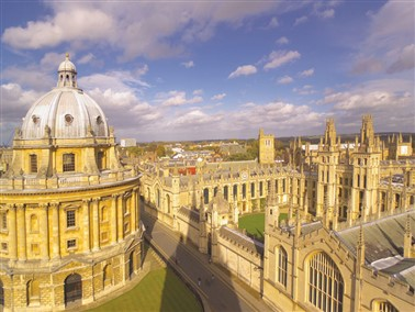 Inspector Morse, Lewis and Endeavour Walking Tour