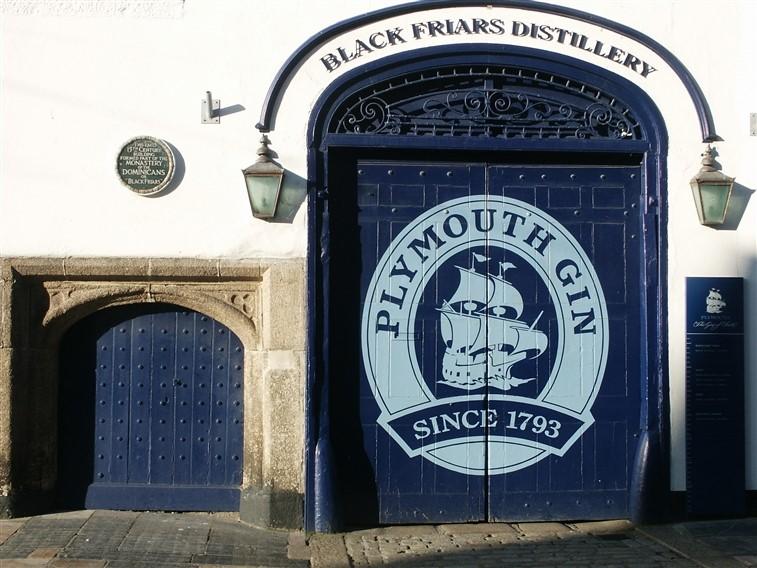 ©VisitEngland Plymouth Gin Distillery