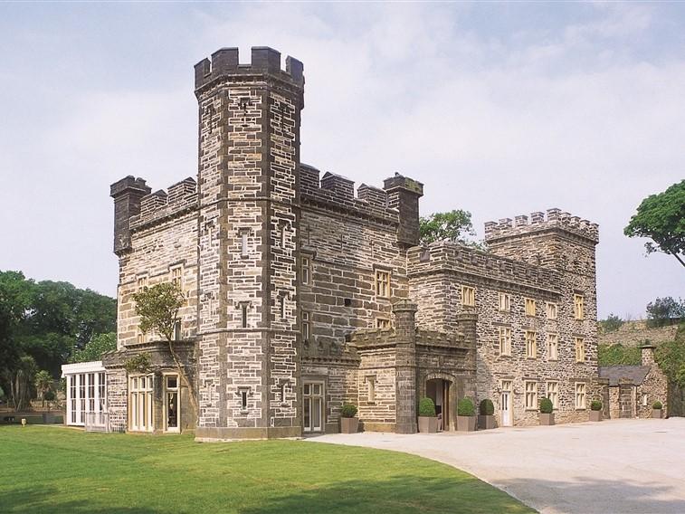 Portmeirion Castle Front