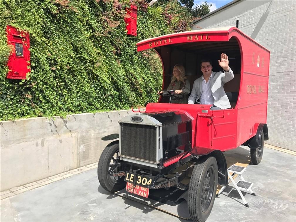 Postal Museum Car