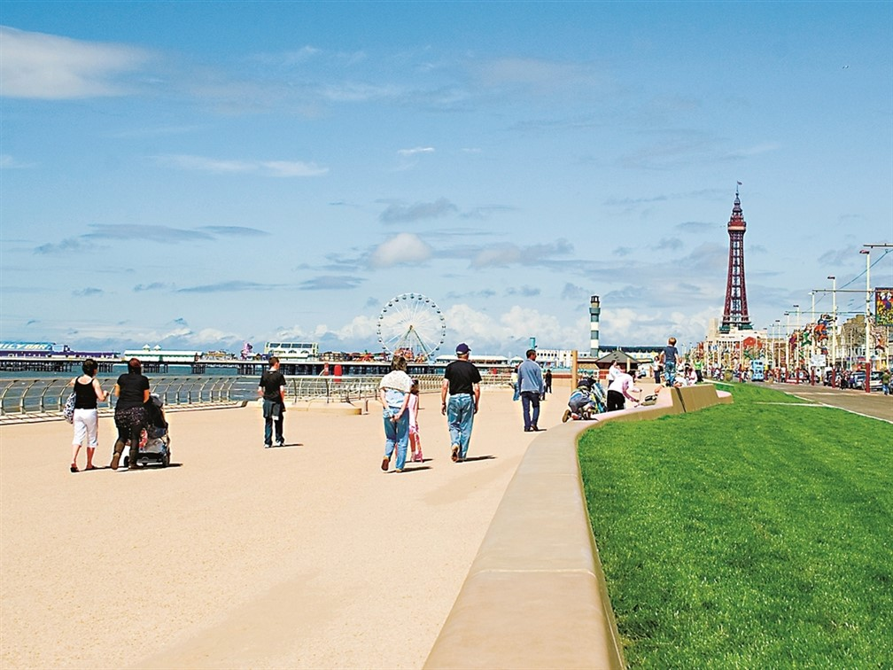 Promenade ©  Image Supplied by Marketing Blackpool