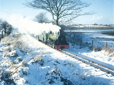 Ravenglass & Eskdale in snow