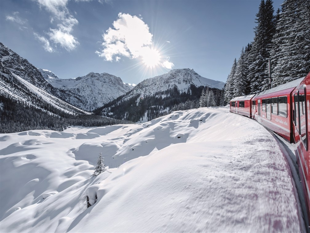 Rhaetische Arosa Line - ©Rhaetische Bahn