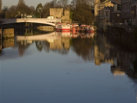 River Ouse looking towards Lendal Bridge