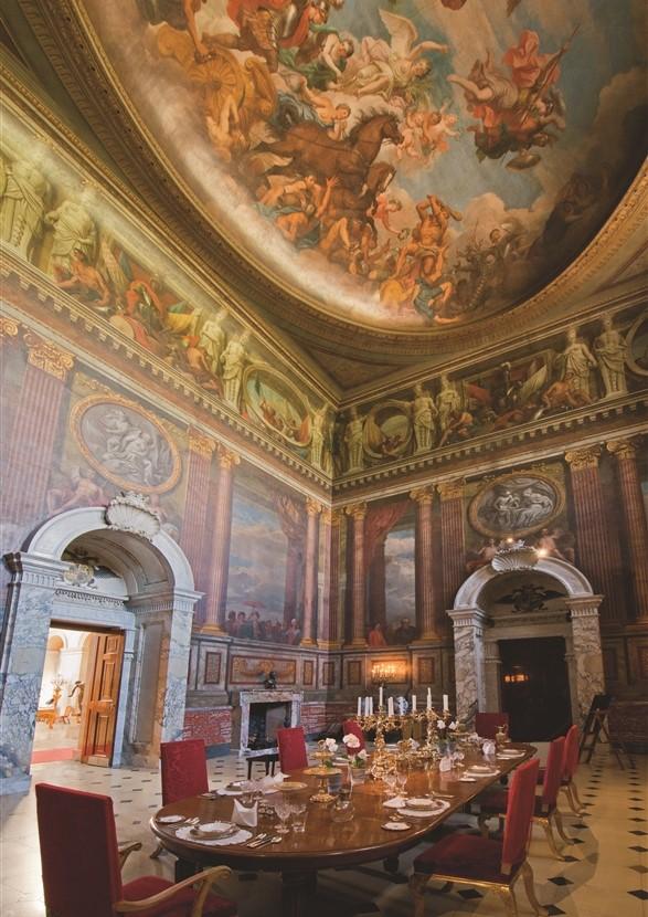 Blenheim Palace Saloon
