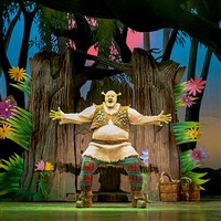 Shrek the Musical at the Mayflower, Southamptom