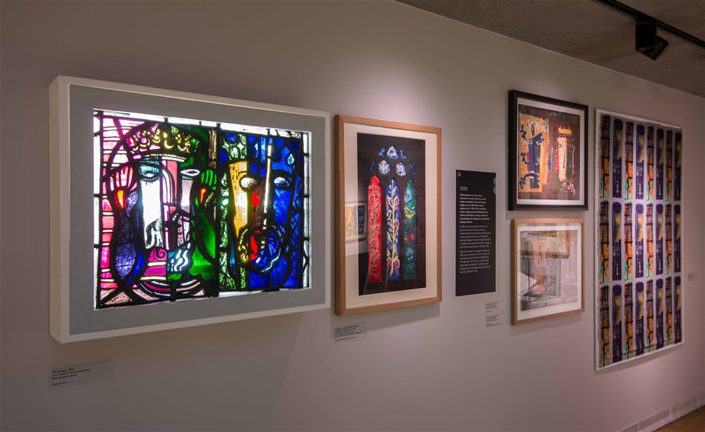 Stained Glass and Fawley Textile Lores