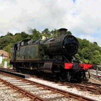 Steaming in Delightful Devon