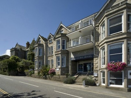 St Ives Bay Hotel Exterior