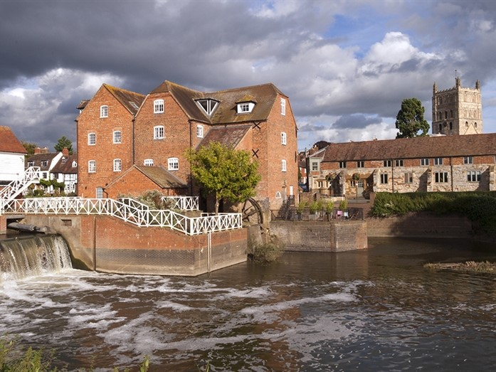 Tewkesbury Abbey Mill & Sluices-