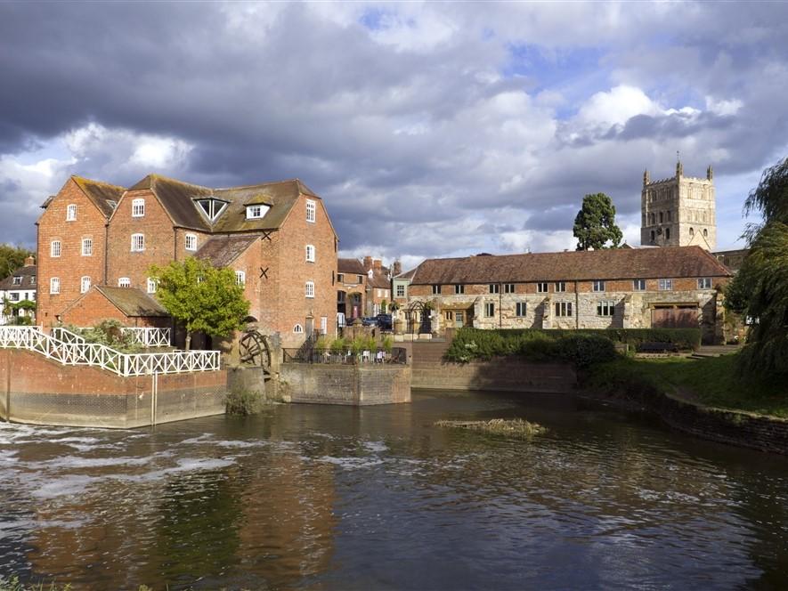 Tewekesbury restored Abbey Mill