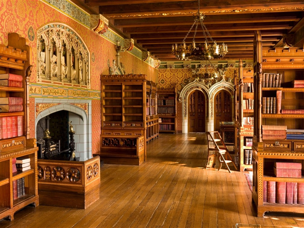 Cardiff Castle The Library