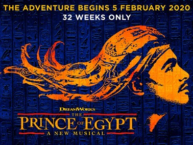 Prince of Egypt at the Dominion Theatre