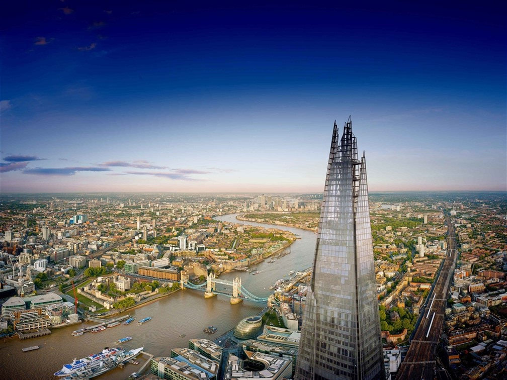 The Shard with Afternoon Tea