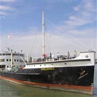 SS Shieldhall - Mayflower 400 Celebrations