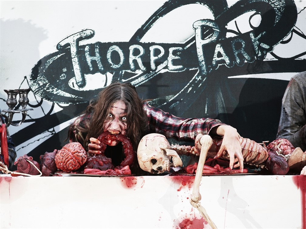 Thorpe Park Fright Night features The Walking Dead
