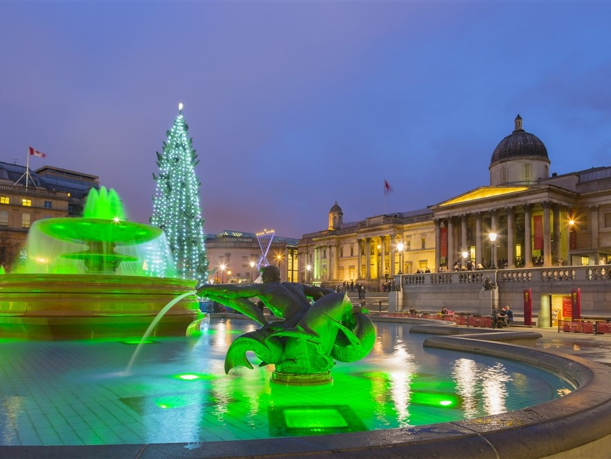 Trafalgar Square © Pawel Libera London & Partners
