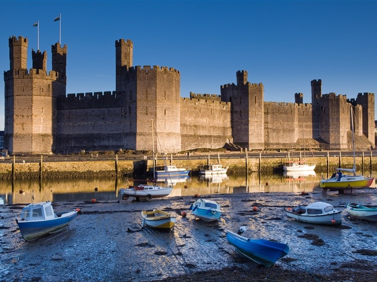 Winter Warmer in Caernarfon