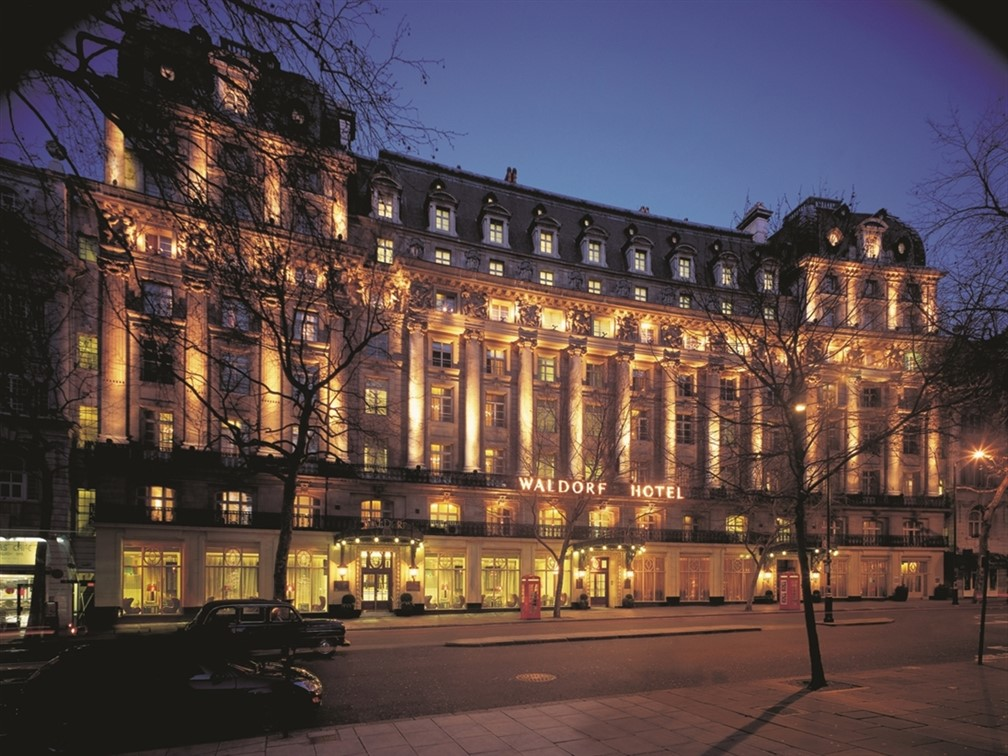 London, The Waldorf Hotel and Afternoon Tea