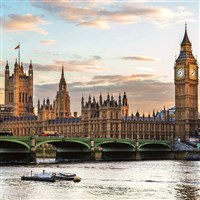 London Landmarks - Houses of Parliament & Westmins