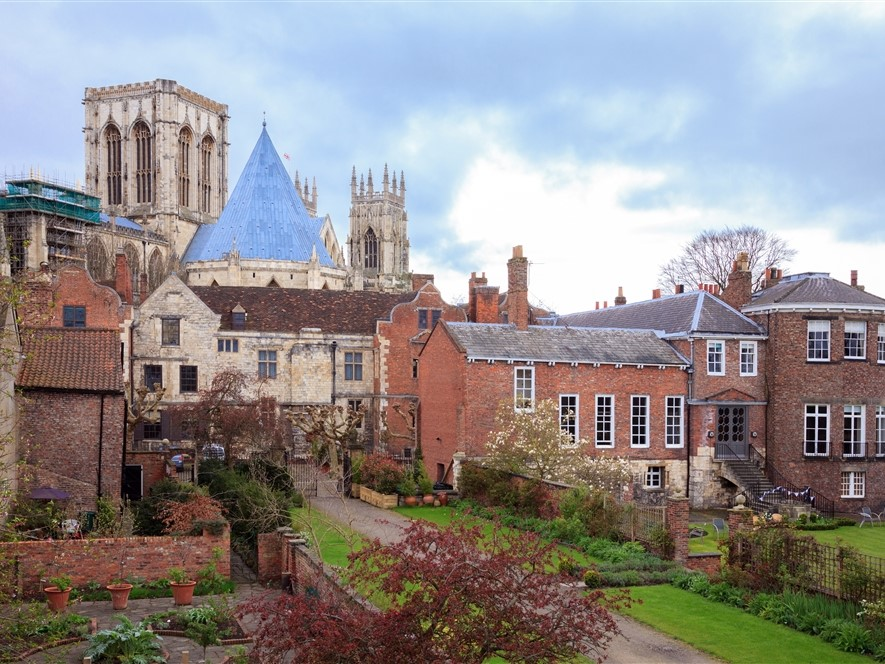 York Minster from Garden Spring