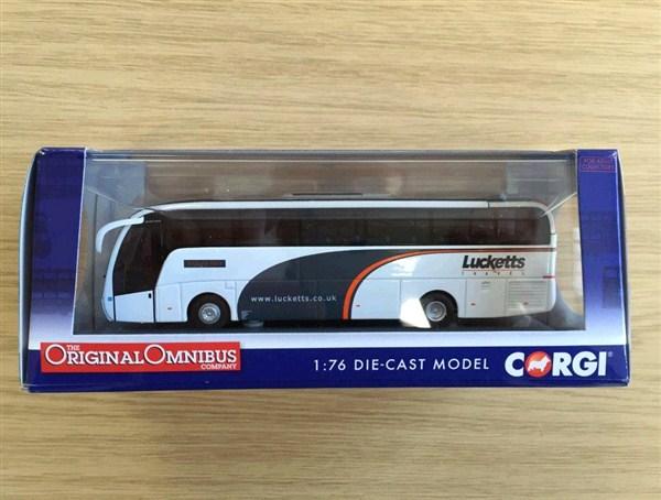 Limited Edition Lucketts Corgi Model