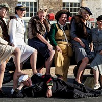 Salute to the 40s at Chatham Dockyard .
