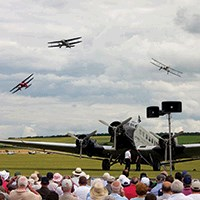 The Duxford Battle of Britain Air Show
