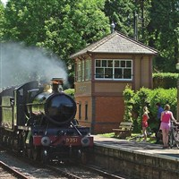 Steam Train Ride & Minehead