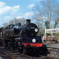 Bluebell Railway & Cream Tea