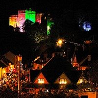 Dunster by Candlelight