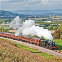 Gloucestershire Steam Railway with Cream Tea