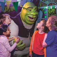 Shreks Adventure, London & London Eye Flight
