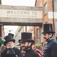 Gloucestershire Quays Victorian Christmas Markets