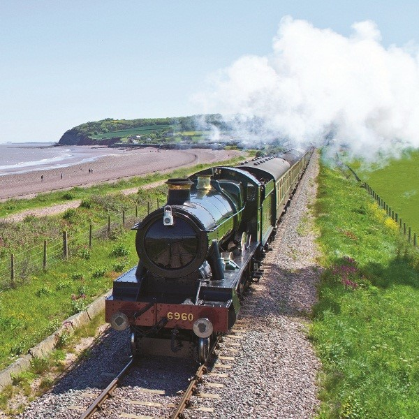 Fish and Chip lunch on the West Somerset Railway